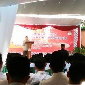 KPU Lantik Ratusan Tenaga Ad-Hoc Pemilu 2019
