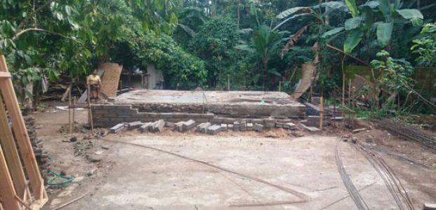 Kemah Pesona Bangun Desa, 9 Warga Miskin di Desa Lantan Dapat Bantuan Bedah Rumah
