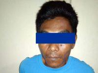 Pulang Dari Malaysia, DPO Curas Hewan Ternak Dijemput Polisi