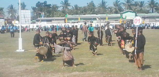 Festival Gendang Beleq Tingkat SD Se-Lombok Tengah Warnai Hardiknas 2017