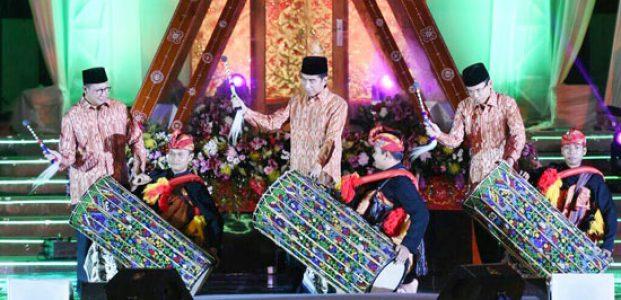 MTQN Resmi Dibuka Presiden Jokowi