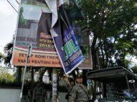 Pol PP Cabut APK Paslon Gubernur dan Cawagub