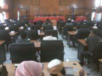 DPRD Gelar Sidang Paripurna Laporan Hasil Pansus I dan II
