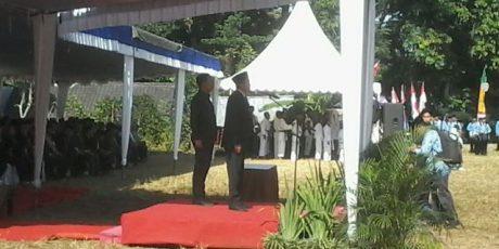Plt.Bupati Jadi Inspektur Pada Peringatan Hardikas 2018 di Aik Bukak