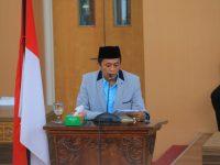 Kepala Daerah Jawab Pemandangan Umum Fraksi Terhadap Ranperda Tentang Pertanggungjawaban Pelaksanaan APBD Tahun Anggaran 2018