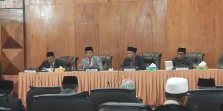 Dewan Setujui Ranperda Perubahan Tentang Retribusi Jasa Usaha