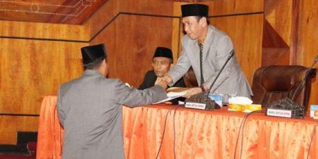 Pansus Sampaikan Hasil Pembahasan LKPJ Kepala Daerah