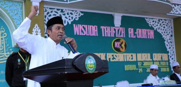 Ratusan Santri Nurul Quran Ikuti Wisuda Tahfizh Quran ke 3