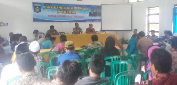Sosial Ekonomi dan infrastruktur, Dominasi Musrenbang Kecamatan Pujut