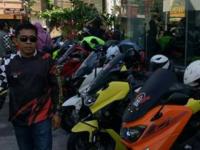 Ribuan Motor Ikuti Touring Wisata Halal