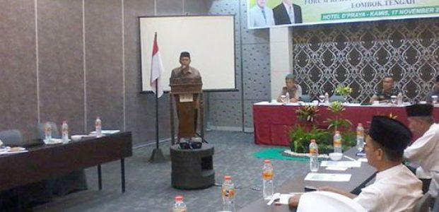 Wabup Buka Rakor FKUB Lombok Tengah