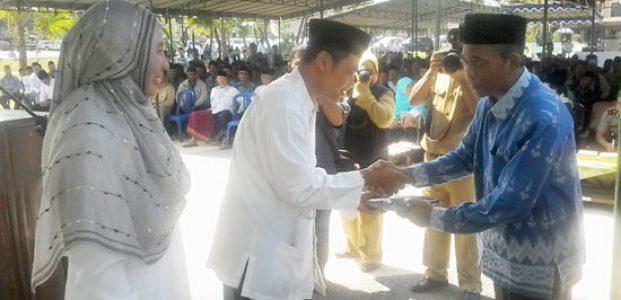 Wabup Lepas Keberangkatan JCH Lombok Tengah