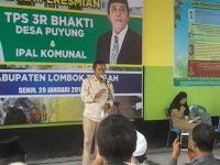 Pemda Resmikan TPS 3R dan IPAL Komunal Puyung