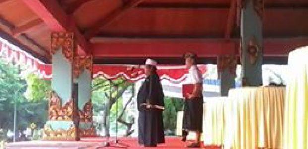 Apel Peringati HUT ke 58 NTB Dirangkai HUT Ke 68 Bela Negara Berlangsung Khidmad