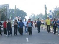 Bupati Lombok Tengah Launching Car Free Day