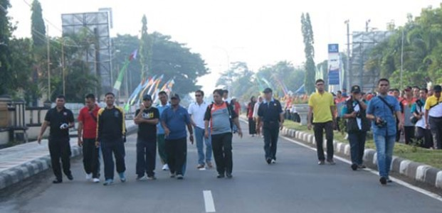 Bupati Lombok Tengah Launching Car Free Day