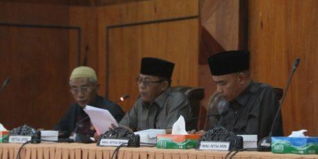 Dewan Sepakat Ranperda Pertanggungjawaban Pelaksanaan APBD 2017 Dilanjut