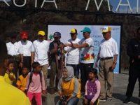 Api Obor Asian Games 2018 Singgah di Mandalika