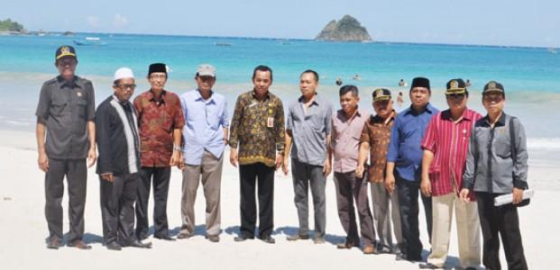 Pansus LKPJ Gelar  Klarifikasi Lapangan Terkait Kinerja Bupati di Bidang Pariwisata