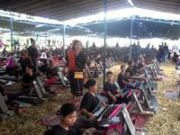 Kekentalan Budaya Warnai Puncak Festival Sukarara Gawe Jelo Nyensek II 2017