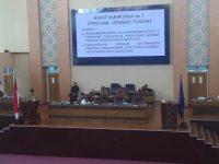 Wabup Sampaikan LKPJ Kepala Daerah Tahun Anggaran 2018
