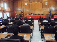 Pemda Sampaikan Pendapatnya Terhadap Ranperda Hak Keuangan Dewan