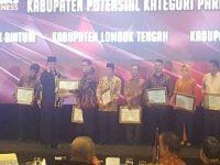 Lombok Tengah Raih Penghargaan 'Indonesia Attractiveness Award 2017'