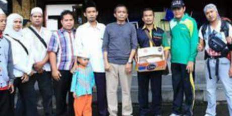 Plt. Bupati Lepas Tim NU Care Lazisnu Bantu Korban Banjir Dompu