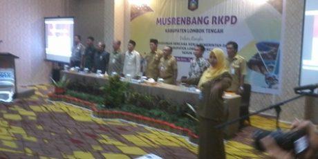Plt Bupati Paparkan Peningkatan Pembangunan Lombok Tengah