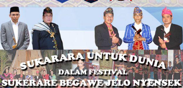 Lestarikan Kain Songket Sukarara, Pemerintah Gelar Festival Sukerare Begawe Jelo Nyensek